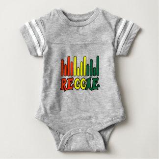 rasta reggae graffiti flag spot baby bodysuit