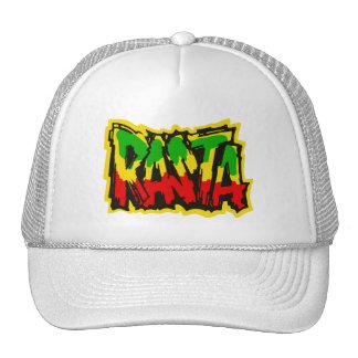 Rasta reggae graffiti mesh hats