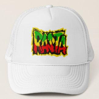 Rasta reggae graffiti trucker hat
