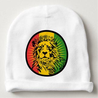 rasta reggae lion flag baby beanie