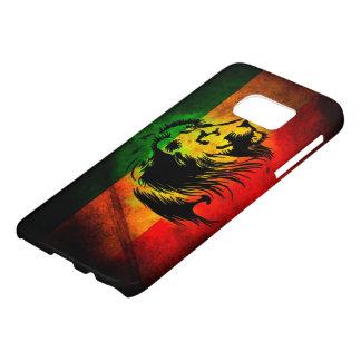 rasta reggae lion graffiti flag art