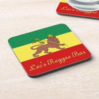 Rasta Reggae Lion of Judah Coaster