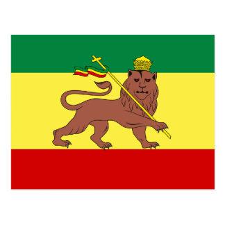 Rasta Reggae Lion of Judah Postcard