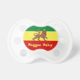 Rasta Reggae Lion of Judah Reggae Baby Dummy