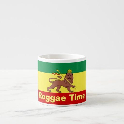 Rasta Reggae Lion of Judah Espresso Cups