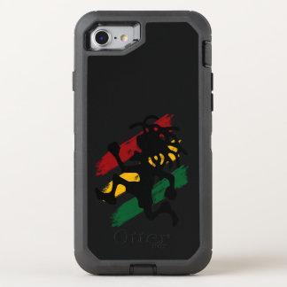 rasta reggae peace flag OtterBox defender iPhone 8/7 case