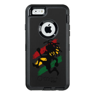 rasta reggae peace flag OtterBox defender iPhone case