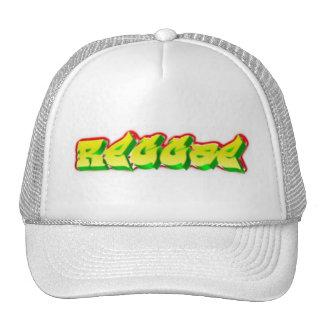 Rasta reggae rasta man music graffiti trucker hat