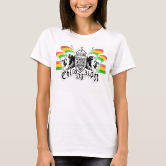 Rasta Reggae Royal Crest T-Shirt