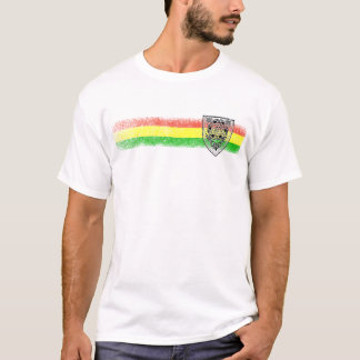 Rasta Reggae Shield of David T-Shirt