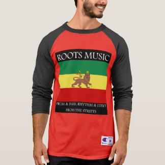 Rasta - Roots Music Baseball Jersey T-Shirt