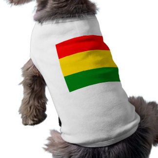 Rasta Sleeveless Dog Shirt
