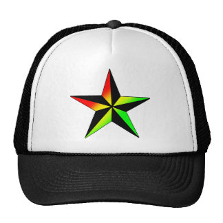 Rasta Star Cap