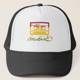 rasta tape reggae trucker hat