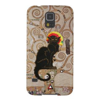 Rasta Tournee Du Chat Noir Cases For Galaxy S5