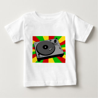 Rasta Turntable Baby T-Shirt