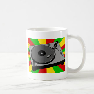 Rasta Turntable Coffee Mug