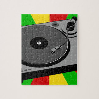 Rasta Turntable Jigsaw Puzzle