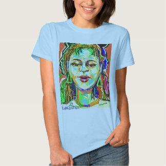 Rasta Woman - The Spoken Word T-shirts