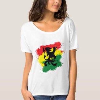 Rasta Woman's T-shirt: Lion of Judah T-Shirt