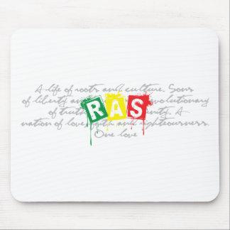 Rasta Writing Mouse Pad
