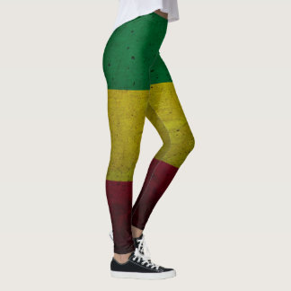 Rastafara power - Rasta Yoga - Reggae Leggins Leggings