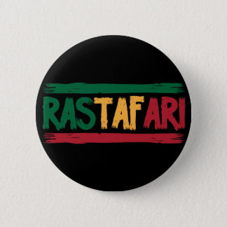Rastafari 6 Cm Round Badge