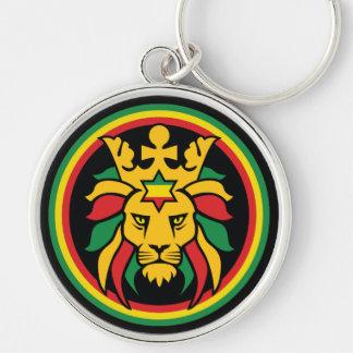 Rastafari Dreadlocks Lion of Judah Key Ring