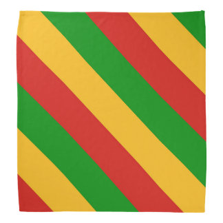 RASTAFARI FLAG COLORS + your ideas Bandana