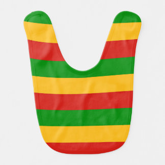 RASTAFARI FLAG COLORS + your ideas Bib