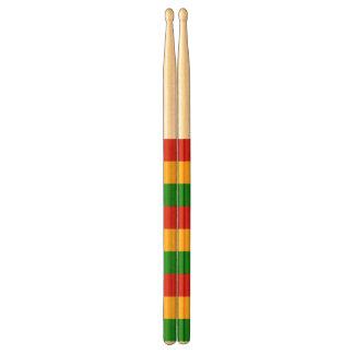 RASTAFARI FLAG COLORS + your ideas Drumsticks