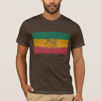 Rastafari flag Van Gogh style T-Shirt