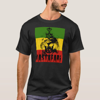 Rastafari King Solomon Lion of Judah T-shirt