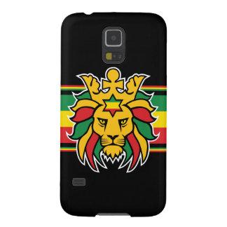 Rastafari Lion of Judah Case For Galaxy S5