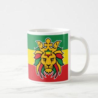 Rastafari Lion of Judah Coffee Mug