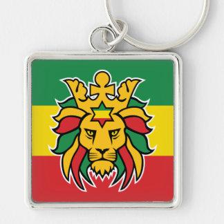 Rastafari Lion of Judah Key Ring