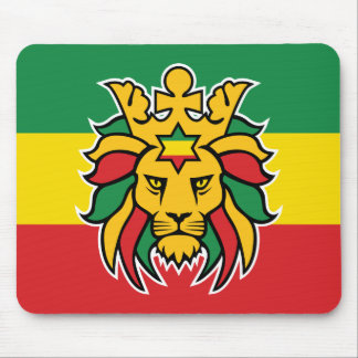 Rastafari Lion of Judah Mouse Mat