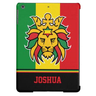 Rastafari Lion of Judah Personalized Name Case For iPad Air