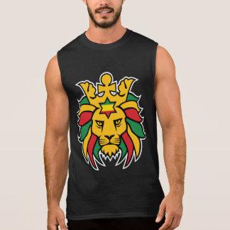 Rastafari Lion of Judah Sleeveless Shirt