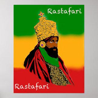 Rastafari Majesty Poster