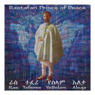 RasTafari Prince of Peace Poster