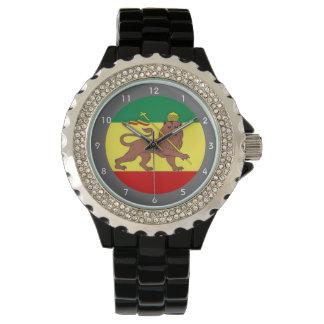 Rastafari Reggae Music Flag Watch