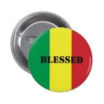 Rastafari-Segen Anstecknadel