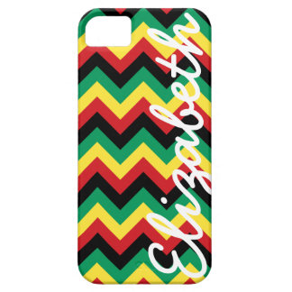 Rastafarian Chevron Barely There iPhone 5 Case