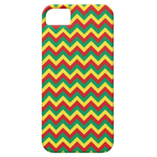 Rastafarian Chevron iPhone 5 Cases