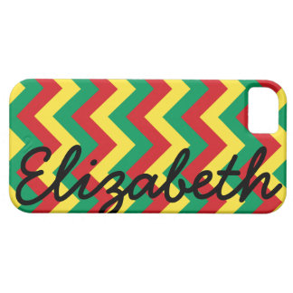 Rastafarian Chevron iPhone 5 Cover
