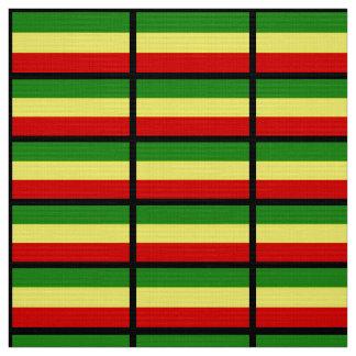 Rastafarian Flag Fabric