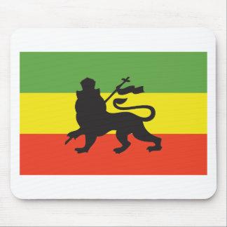 Rastafarian Flag Mouse Mat