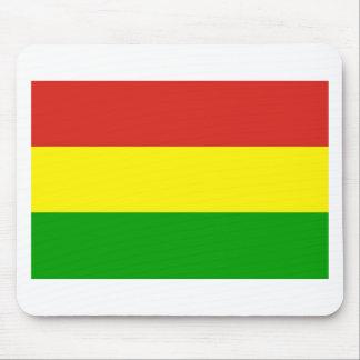 rastafarian flag mousepads