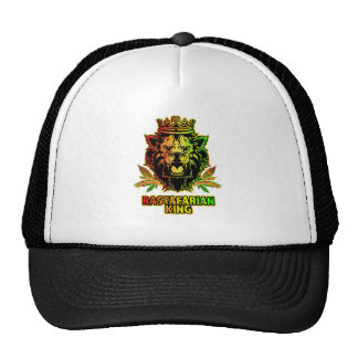 Rastafarian King Lion Cap